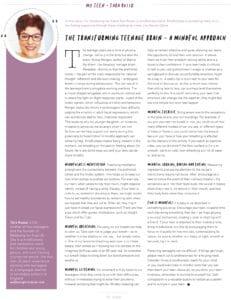 juno magazine article teenage brain mindfulness